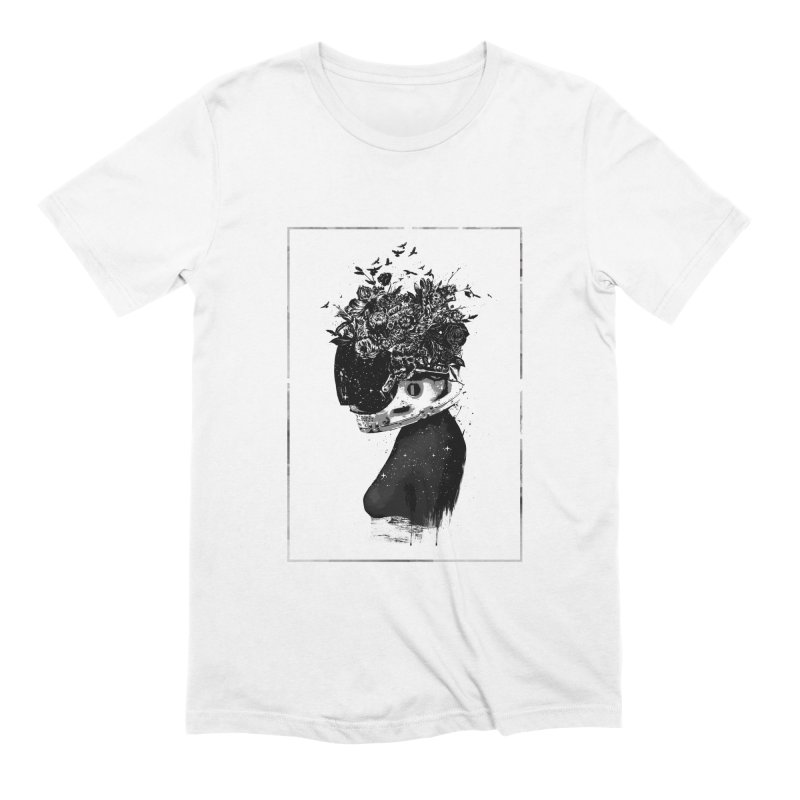 Hybrid  girl Men's Extra Soft T-Shirt by Balazs Solti