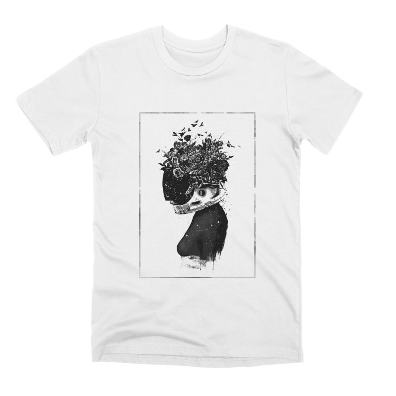 Hybrid  girl Men's Premium T-Shirt by Balazs Solti