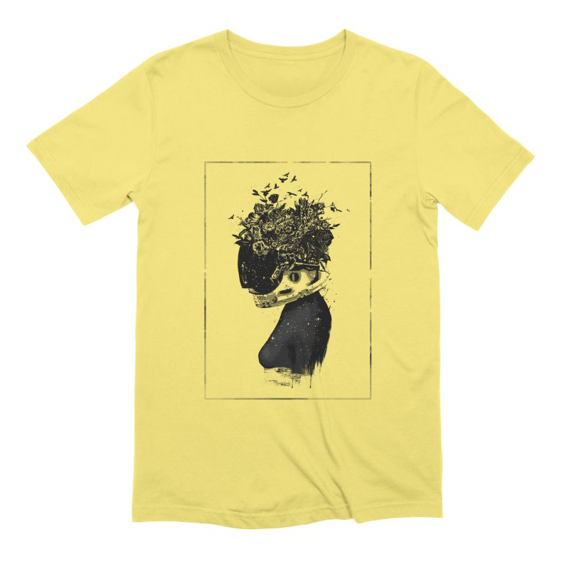 Hybrid  girl Men's T-Shirt by Balazs Solti