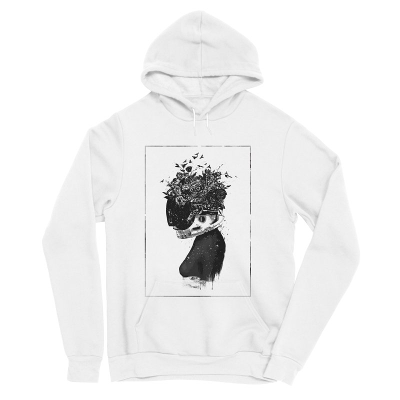 Hybrid  girl Men's Pullover Hoody by Balazs Solti