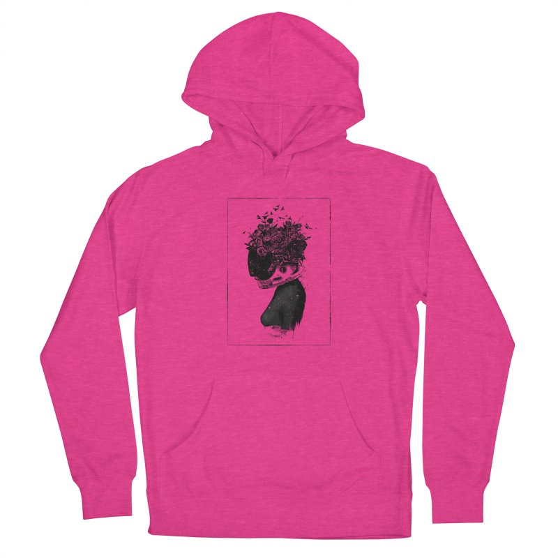 Hybrid  girl Women's Pullover Hoody by Balazs Solti