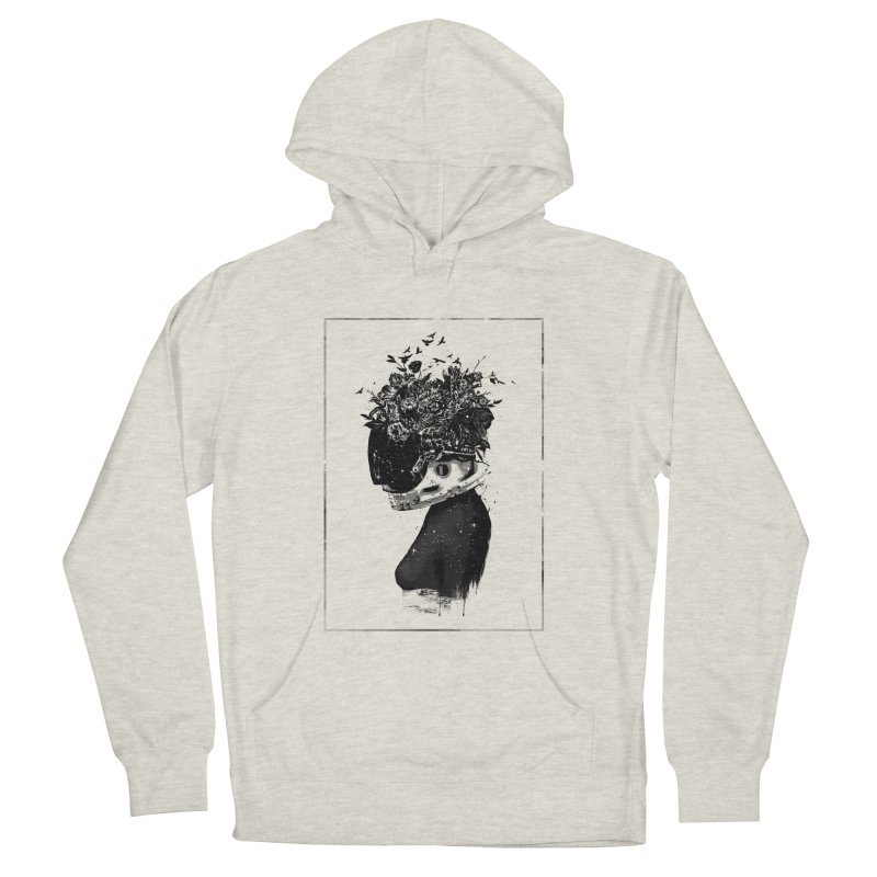Hybrid  girl Men's French Terry Pullover Hoody by Balazs Solti
