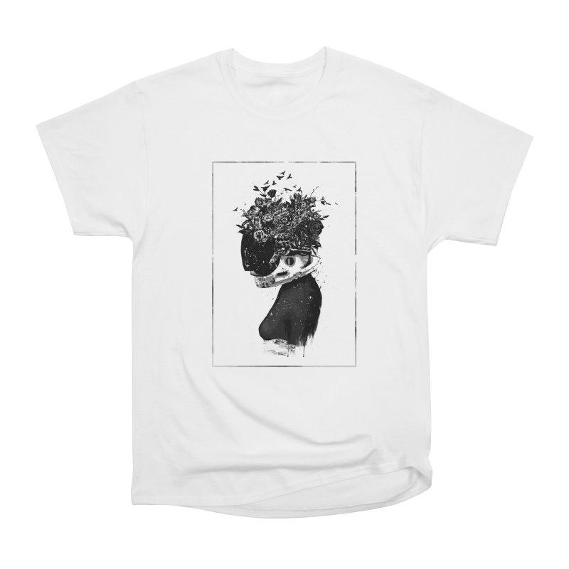 Hybrid  girl Men's Heavyweight T-Shirt by Balazs Solti