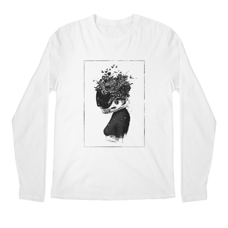 Hybrid  girl Men's Regular Longsleeve T-Shirt by Balazs Solti