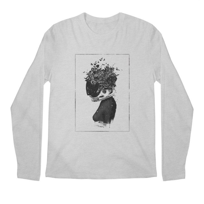 Hybrid  girl Men's Regular Longsleeve T-Shirt by Balazs Solti