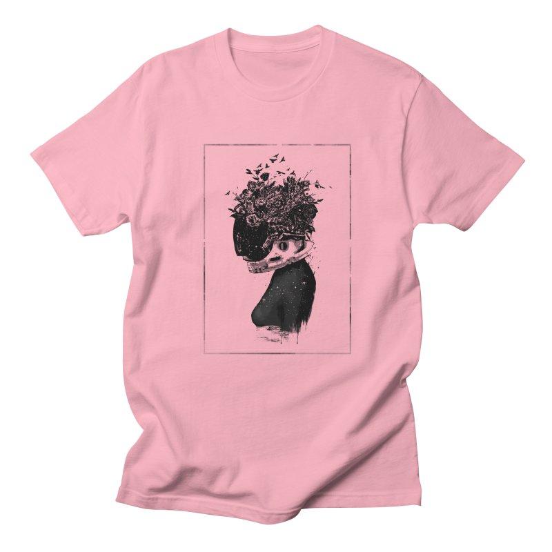 Hybrid  girl Men's Regular T-Shirt by Balazs Solti