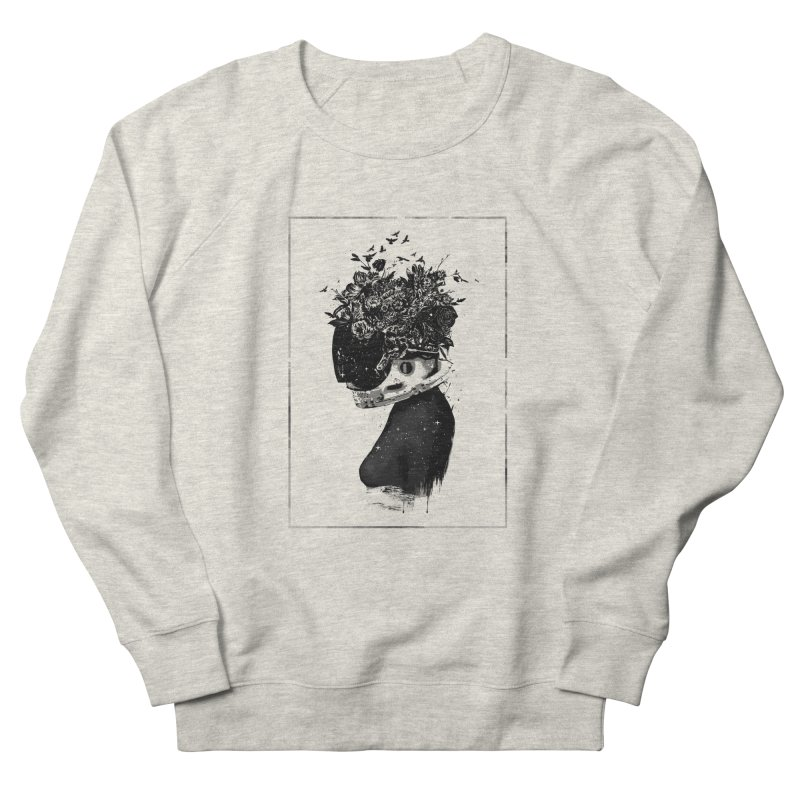 Hybrid  girl Men's French Terry Sweatshirt by Balazs Solti