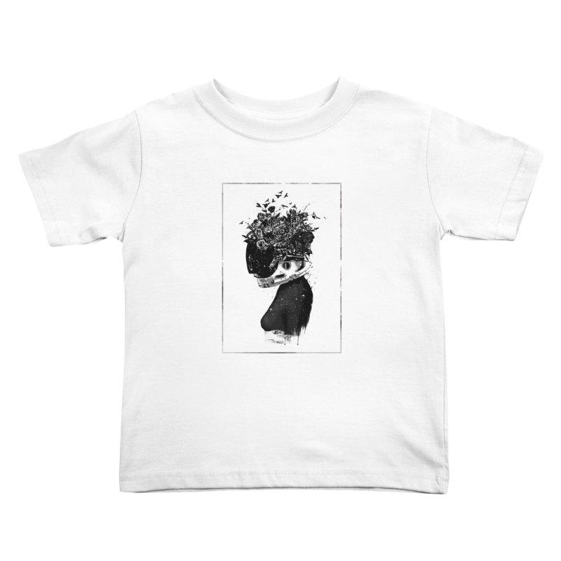 Hybrid  girl Kids Toddler T-Shirt by Balazs Solti