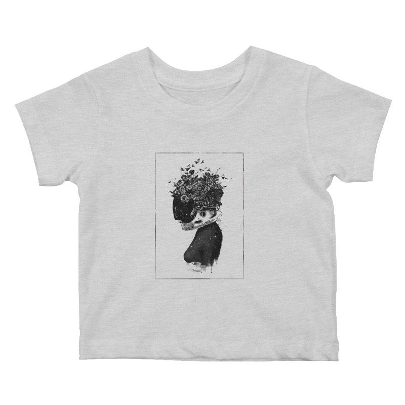 Hybrid  girl Kids Baby T-Shirt by Balazs Solti
