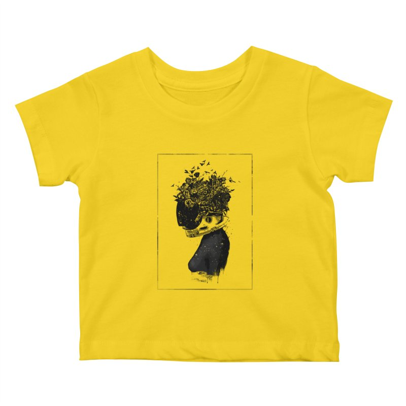 Hybrid  girl Kids Baby T-Shirt by Balazs Solti