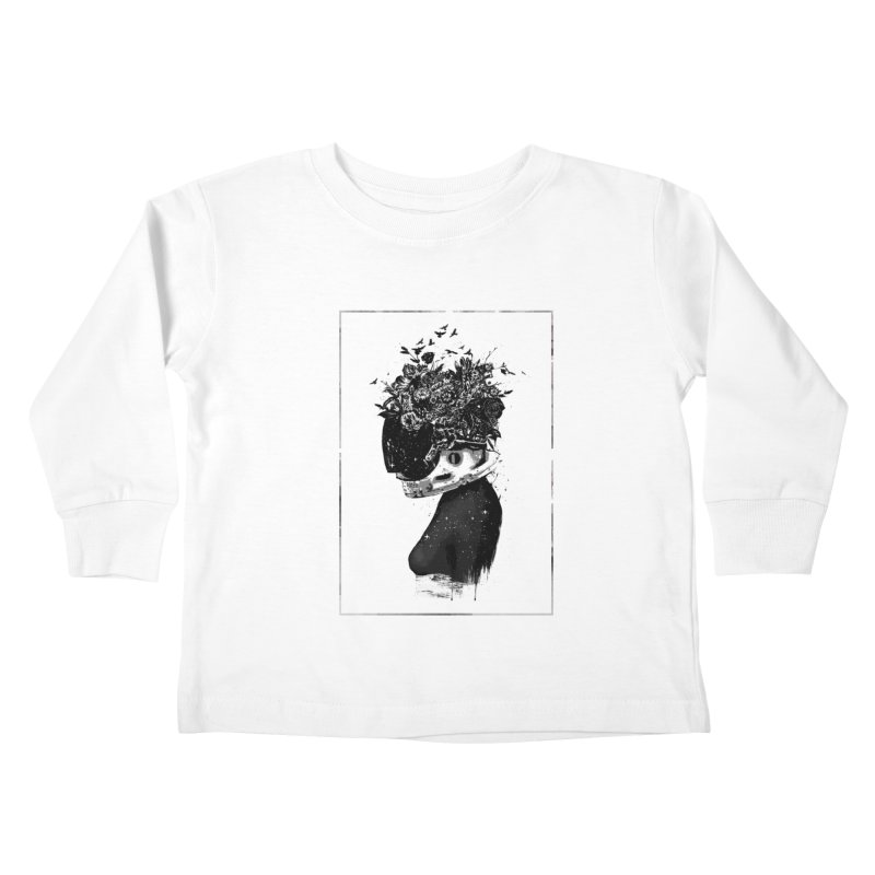 Hybrid  girl Kids Toddler Longsleeve T-Shirt by Balazs Solti