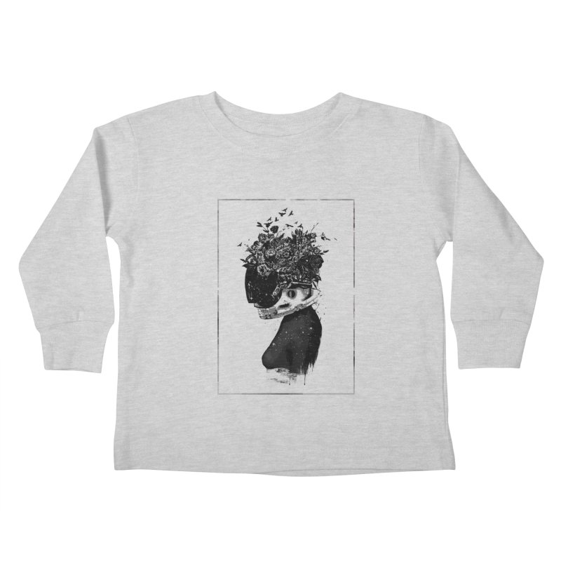 Hybrid  girl Kids Toddler Longsleeve T-Shirt by Balazs Solti