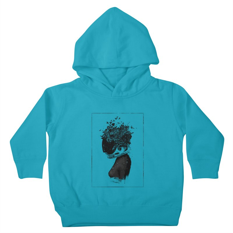 Hybrid  girl Kids Toddler Pullover Hoody by Balazs Solti