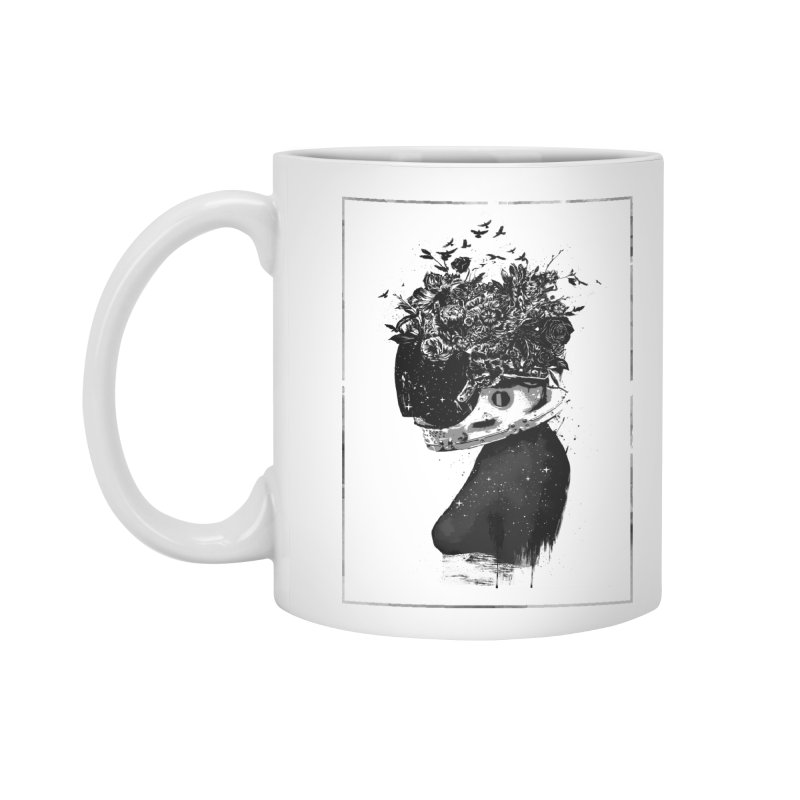 Hybrid  girl Accessories Standard Mug by Balazs Solti