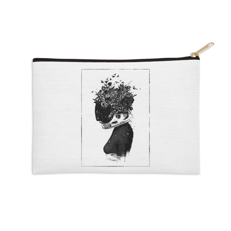 Hybrid  girl Accessories Zip Pouch by Balazs Solti