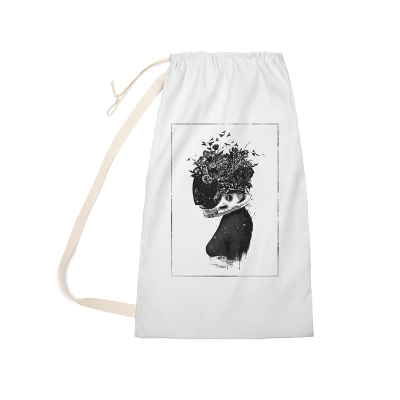 Hybrid  girl Accessories Laundry Bag Bag by Balazs Solti