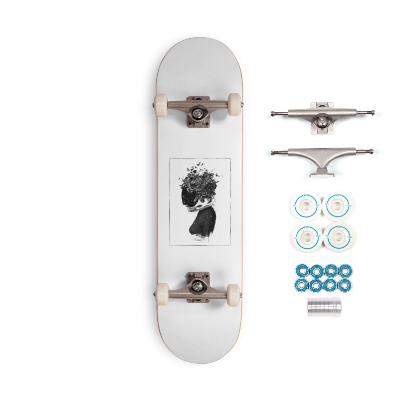 Hybrid  girl Accessories Complete - Basic Skateboard by Balazs Solti
