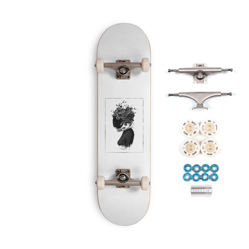 Hybrid  girl Accessories Complete - Premium Skateboard by Balazs Solti