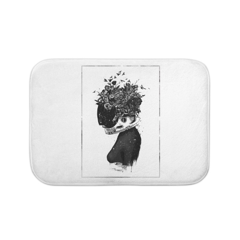 Hybrid  girl Home Bath Mat by Balazs Solti