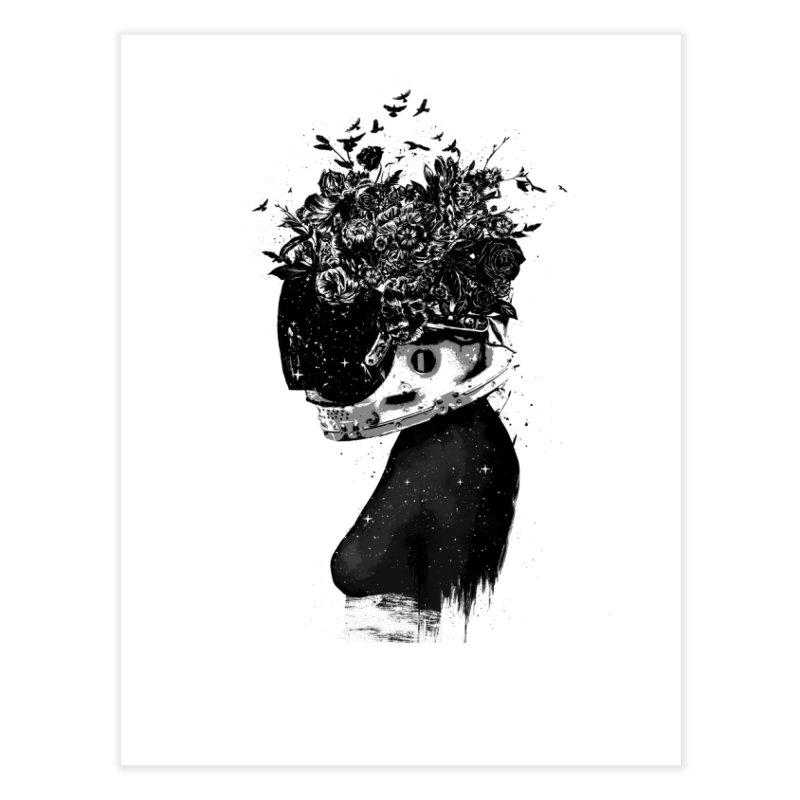 Hybrid  girl Home Fine Art Print by Balazs Solti