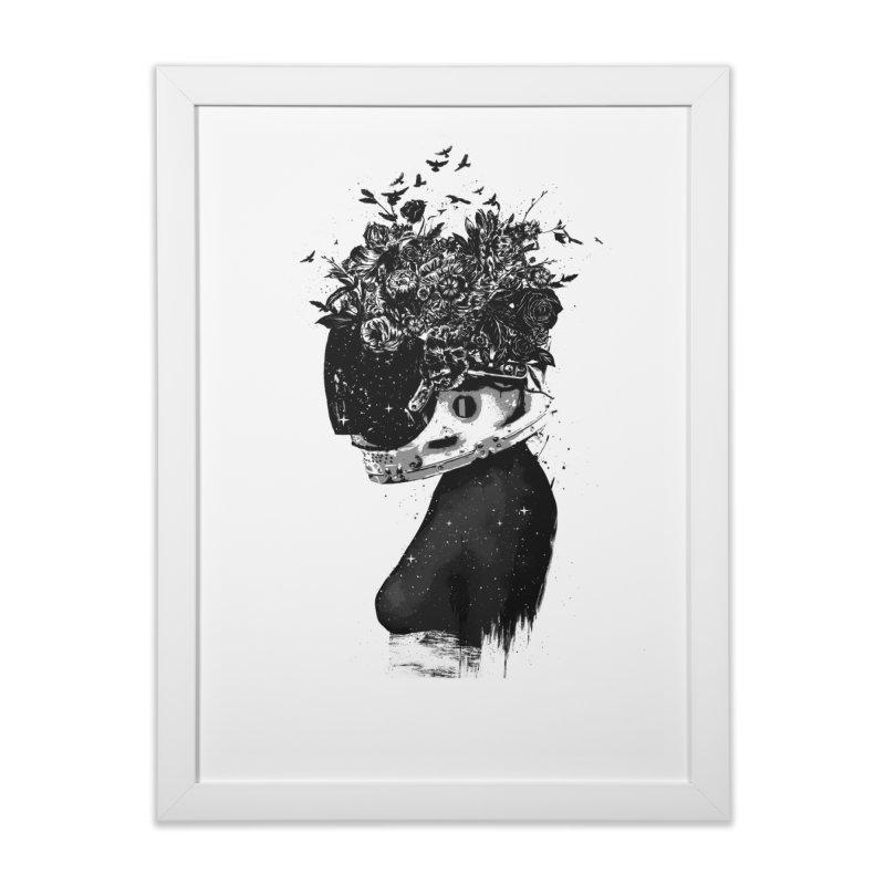 Hybrid  girl Home Framed Fine Art Print by Balazs Solti