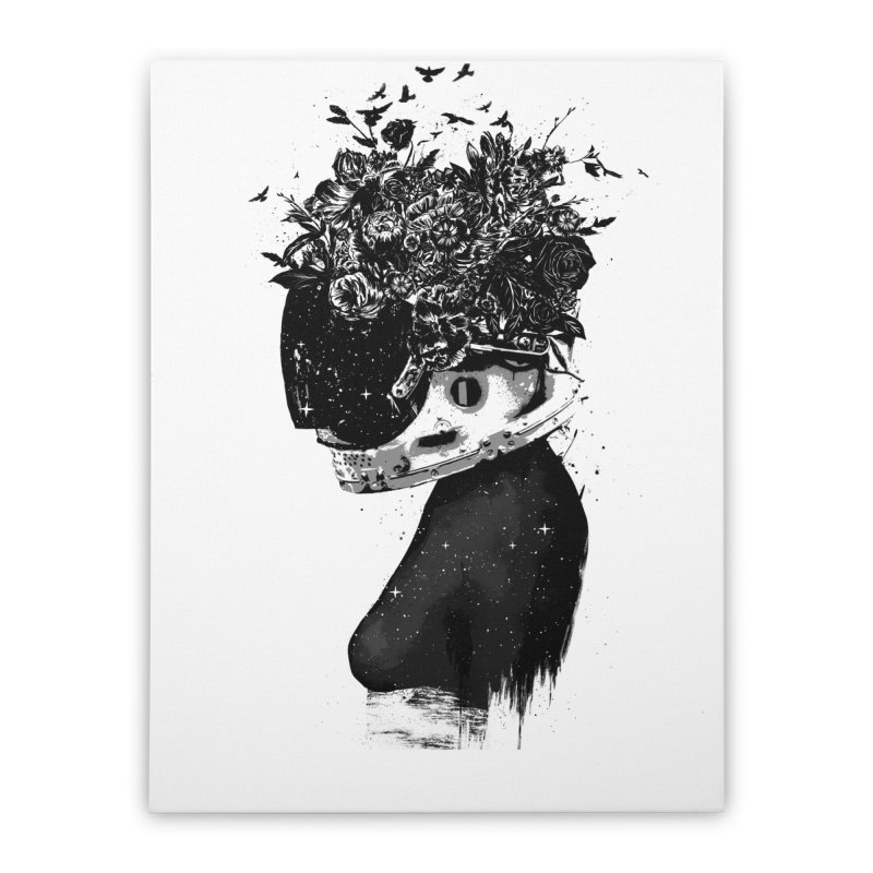 Hybrid  girl Home Stretched Canvas by Balazs Solti