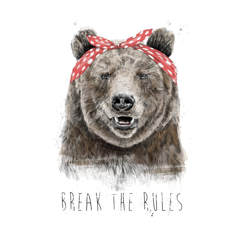 Break the rules Kids T-Shirt by Balazs Solti