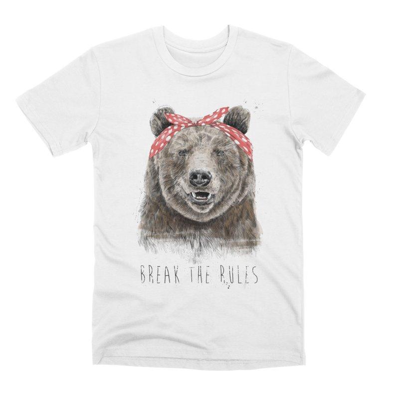 Break the rules Men's T-Shirt by Balazs Solti