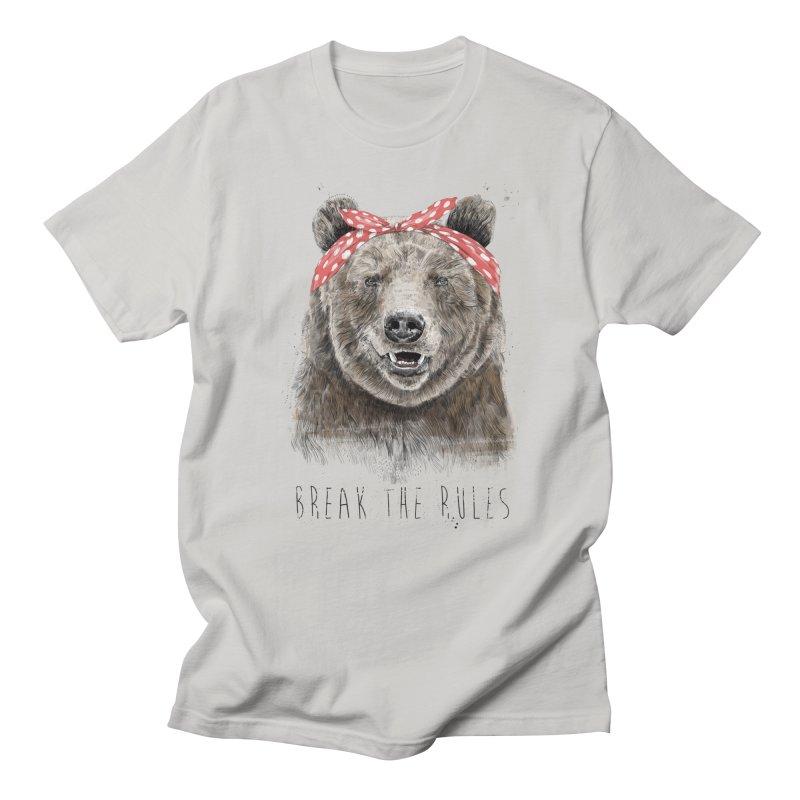 Break the rules Men's Regular T-Shirt by Balazs Solti