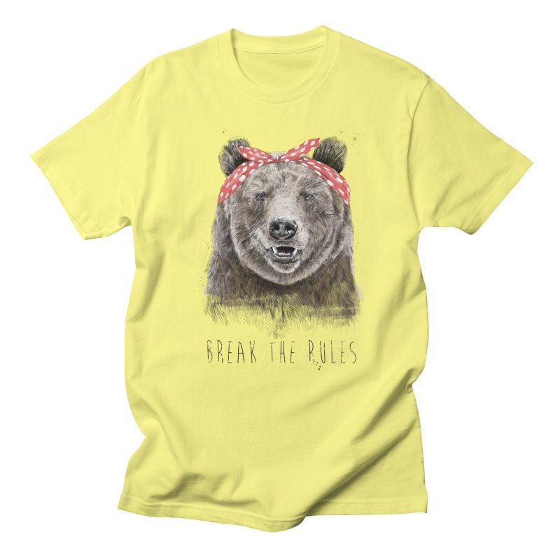 Break the rules Men's T-Shirt by Balazs Solti
