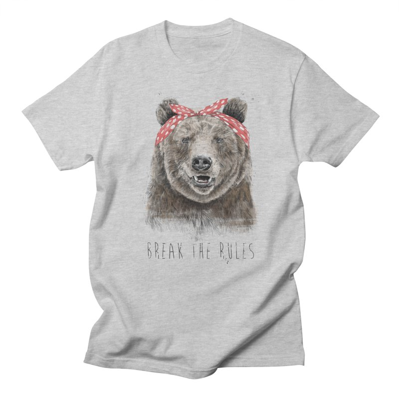 Break the rules Women's Regular Unisex T-Shirt by Balazs Solti