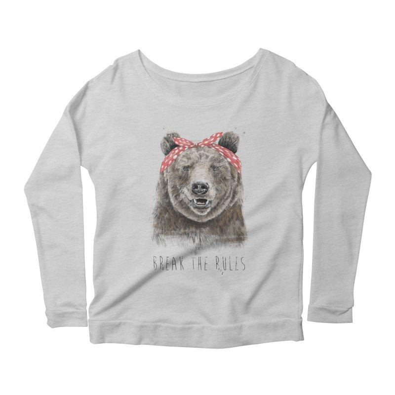 Break the rules Women's Longsleeve T-Shirt by Balazs Solti