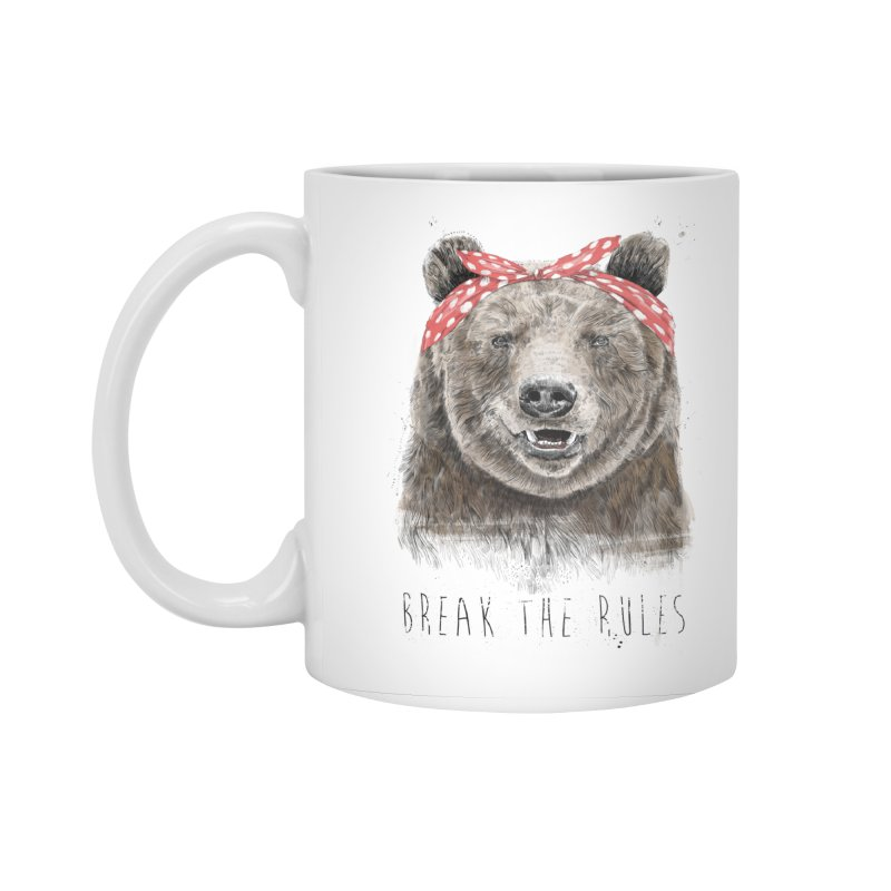 Break the rules Accessories Mug by Balazs Solti
