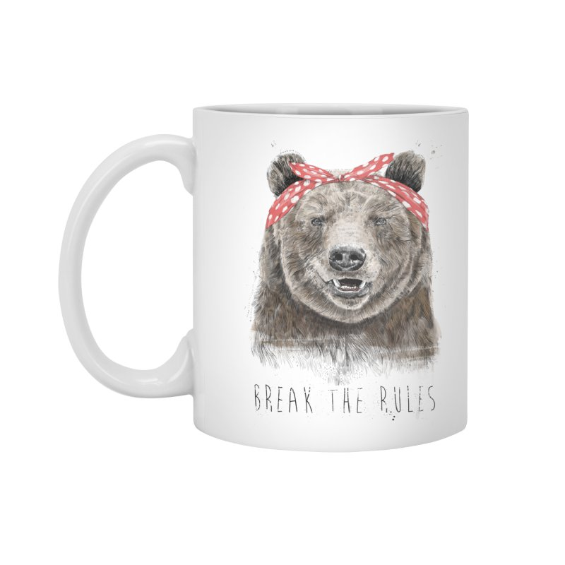 Break the rules Accessories Standard Mug by Balazs Solti