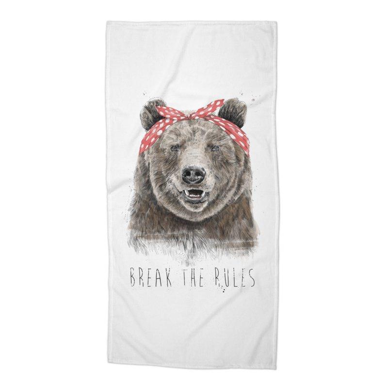 Break the rules Accessories Beach Towel by Balazs Solti