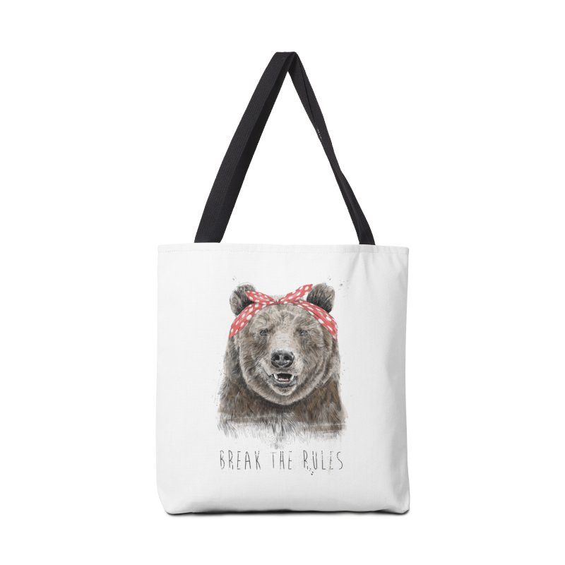 Break the rules Accessories Tote Bag Bag by Balazs Solti