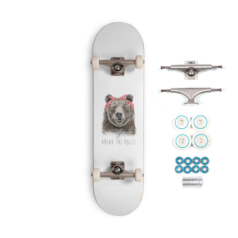 Break the rules Accessories Complete - Basic Skateboard by Balazs Solti