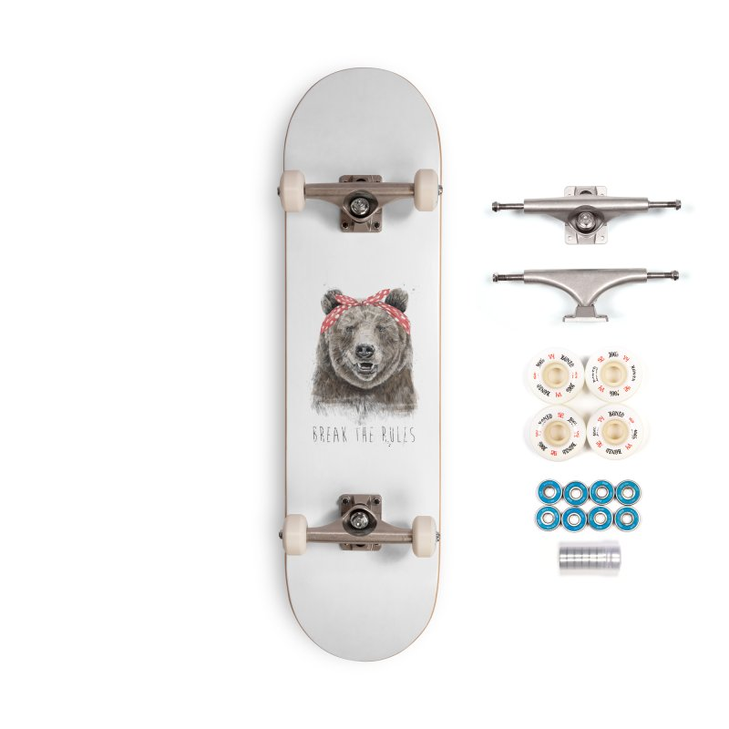 Break the rules Accessories Complete - Premium Skateboard by Balazs Solti