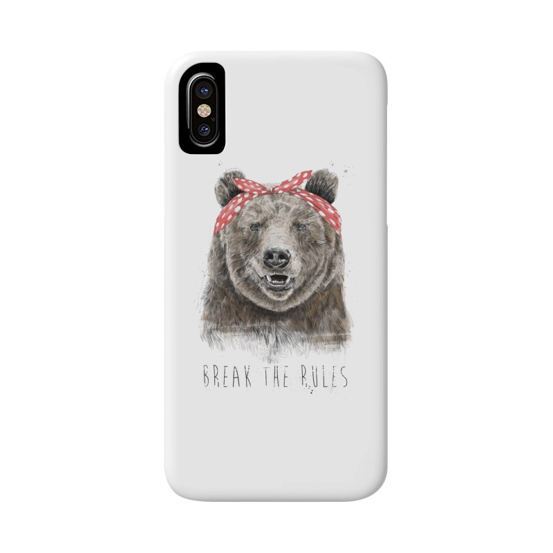 Break the rules Accessories Phone Case by Balazs Solti