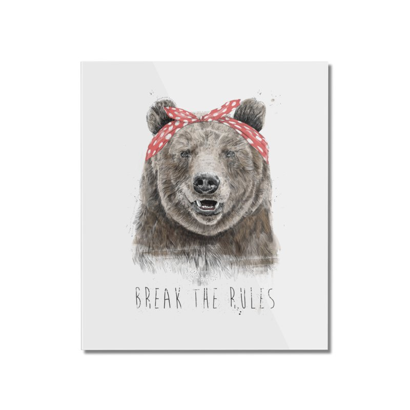 Break the rules Home Mounted Acrylic Print by Balazs Solti