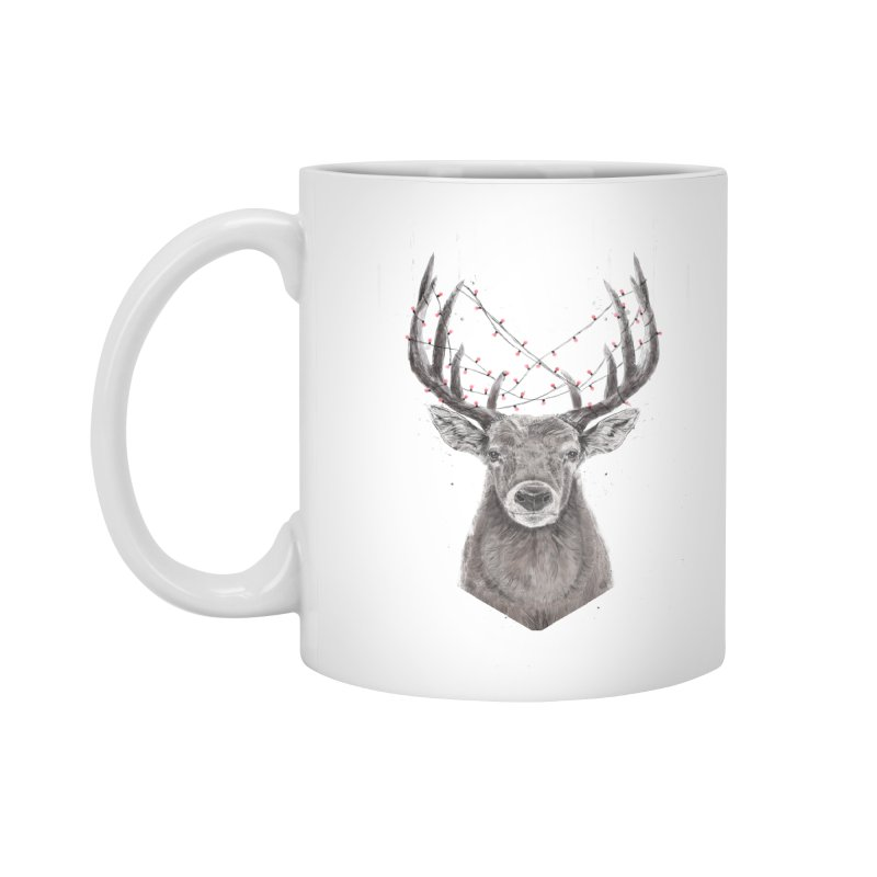 Xmas deer Accessories Standard Mug by Balazs Solti