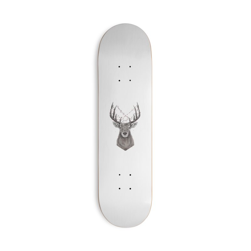 Xmas deer Accessories Deck Only Skateboard by Balazs Solti