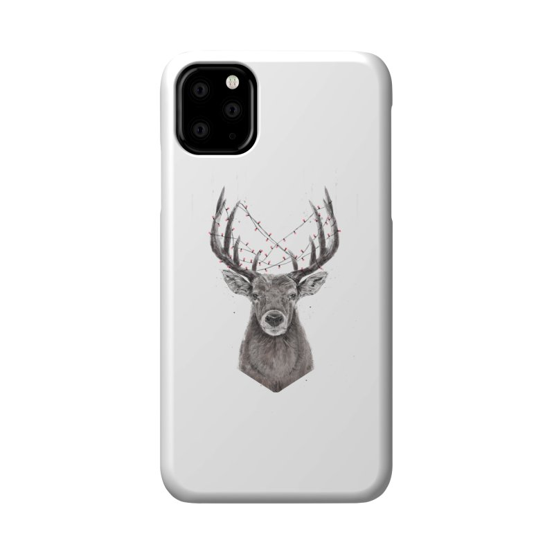 Xmas deer Accessories Phone Case by Balazs Solti