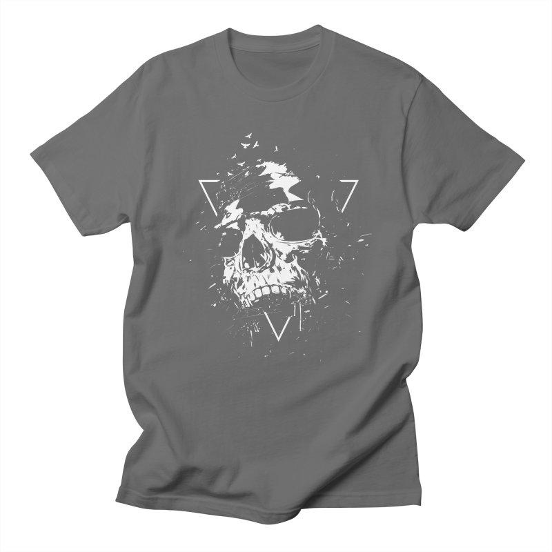 Skull X (bw) Women's T-Shirt by Balazs Solti