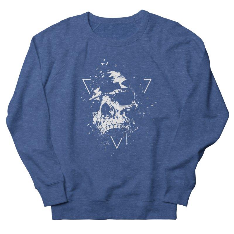 Skull X (bw) Men's Sweatshirt by Balazs Solti