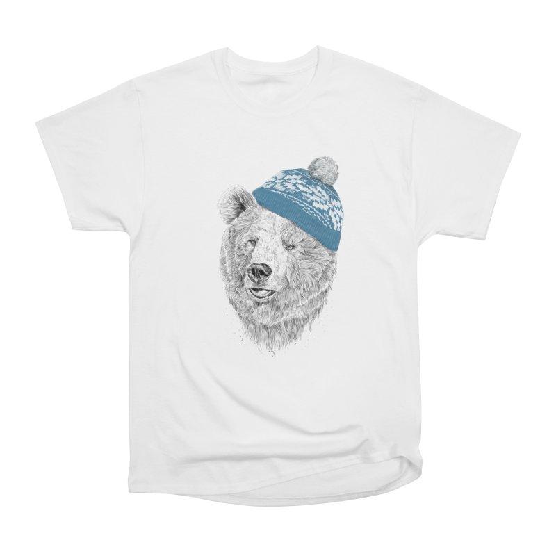 Hello Winter Men's T-Shirt by Balazs Solti