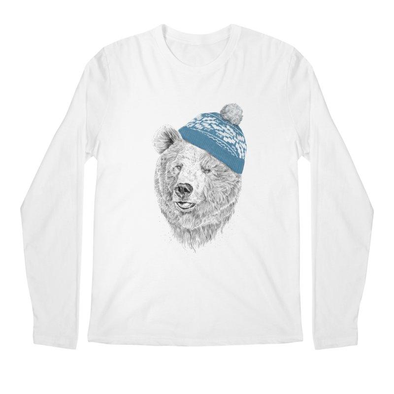 Hello Winter Men's Regular Longsleeve T-Shirt by Balazs Solti