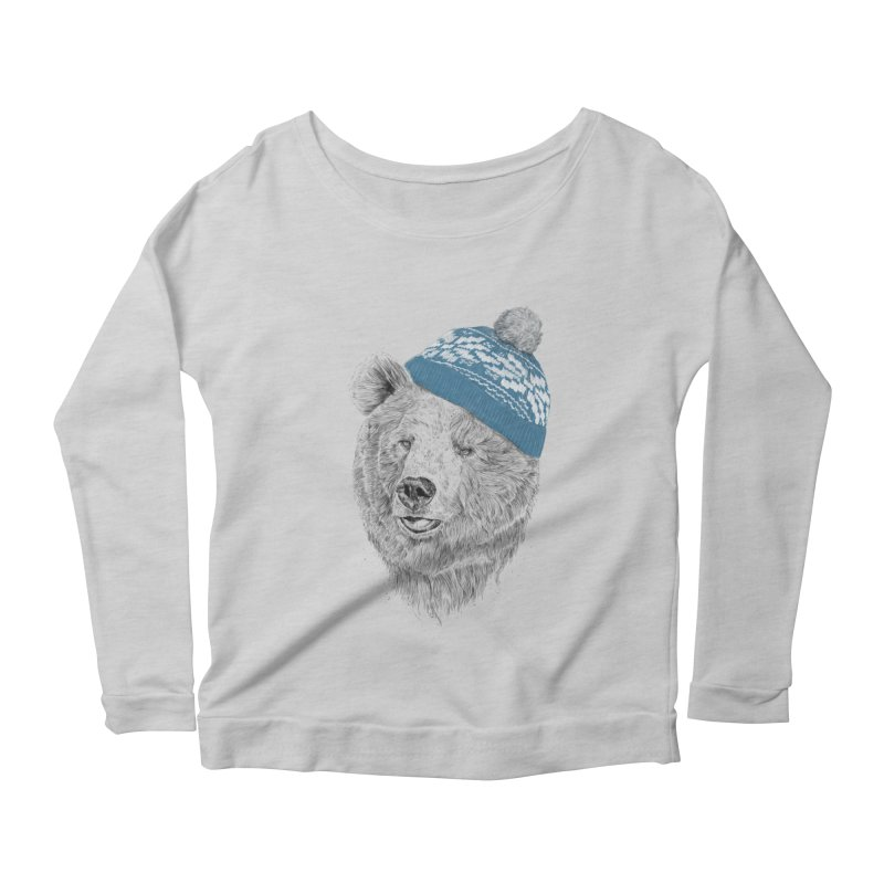 Hello Winter Women's Longsleeve T-Shirt by Balazs Solti