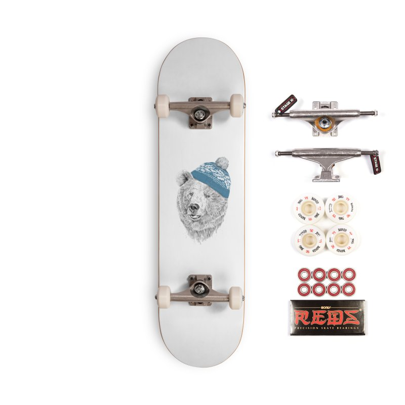 Hello Winter Accessories Complete - Pro Skateboard by Balazs Solti