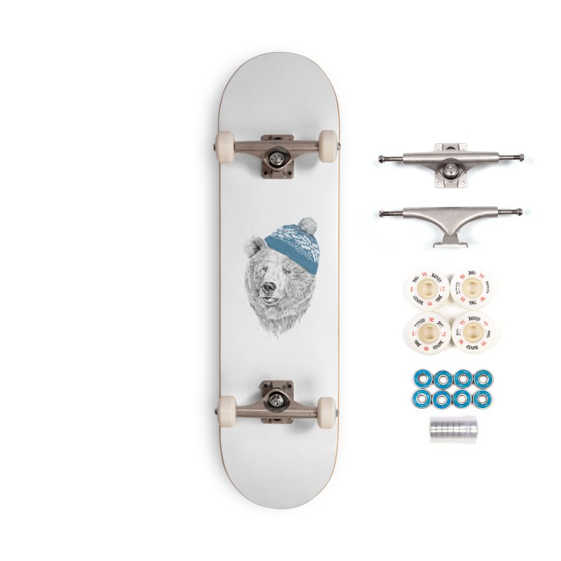 Hello Winter Accessories Complete - Premium Skateboard by Balazs Solti